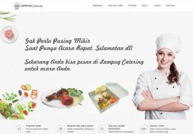 Website Catering/Kuliner