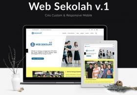 Website Sekolah V1 Siap Pakai